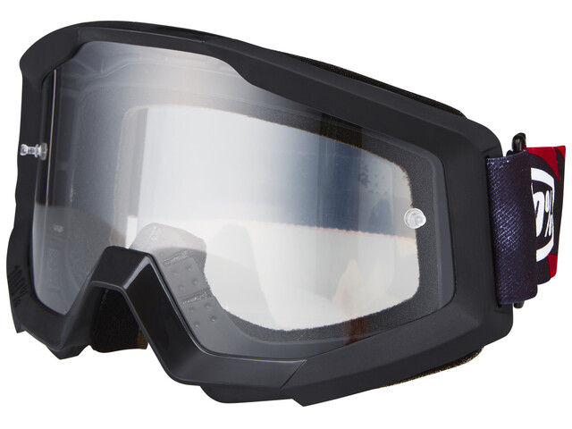100% Strata Goggle slash/anti fog clear
